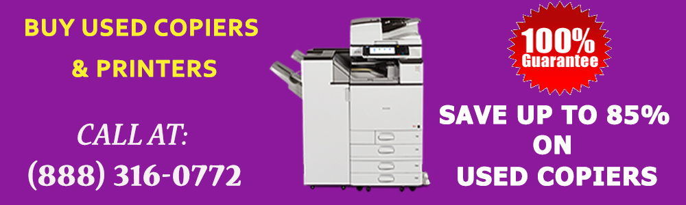 Buy Used Copiers – A Way to Make Your Office Green