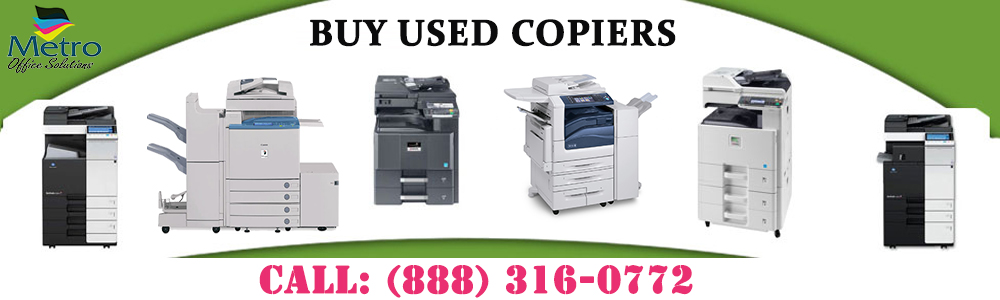 Buying A Copy Machine – Prefer Used Repaired Copiers