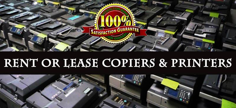 Rent Lease Copiers Printers
